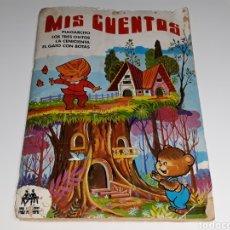 Coleccionismo Álbum: ANTIGUO AL BUM DE CROMOS MIS CUENTOS ED. RUÍZ ROMERO RUIROMER AÑO 1972. Lote 118433352