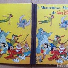 Coleccionismo Álbum: EL MARAVILLOSO MUNDO DE WALT DISNEY COMPLETO 420 CROMOS. Lote 119000640