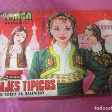 Coleccionismo Álbum: TRAJES TIPICOS DE TODO EL MUNDO ALBUM COMPLETO. Lote 222607422