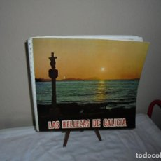 Coleccionismo Álbum: ALBUM DE CROMOS LAS BELLEZAS DE GALICIA COMPLETO LEER DESCRIPCION . Lote 119038979