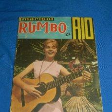 Coleccionismo Álbum: ALBUM COMPLETO - MARISOL RUMBO A RIO , EDC FHER 1963 , COLECCION DE 200 CROMOS . Lote 119075799