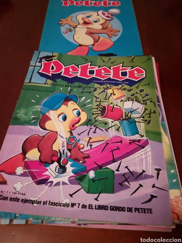 Coleccionismo Álbum: PETETE álbum completó cromos sin pegar con sus laminas sin recortar y revistas - Foto 18 - 119309728