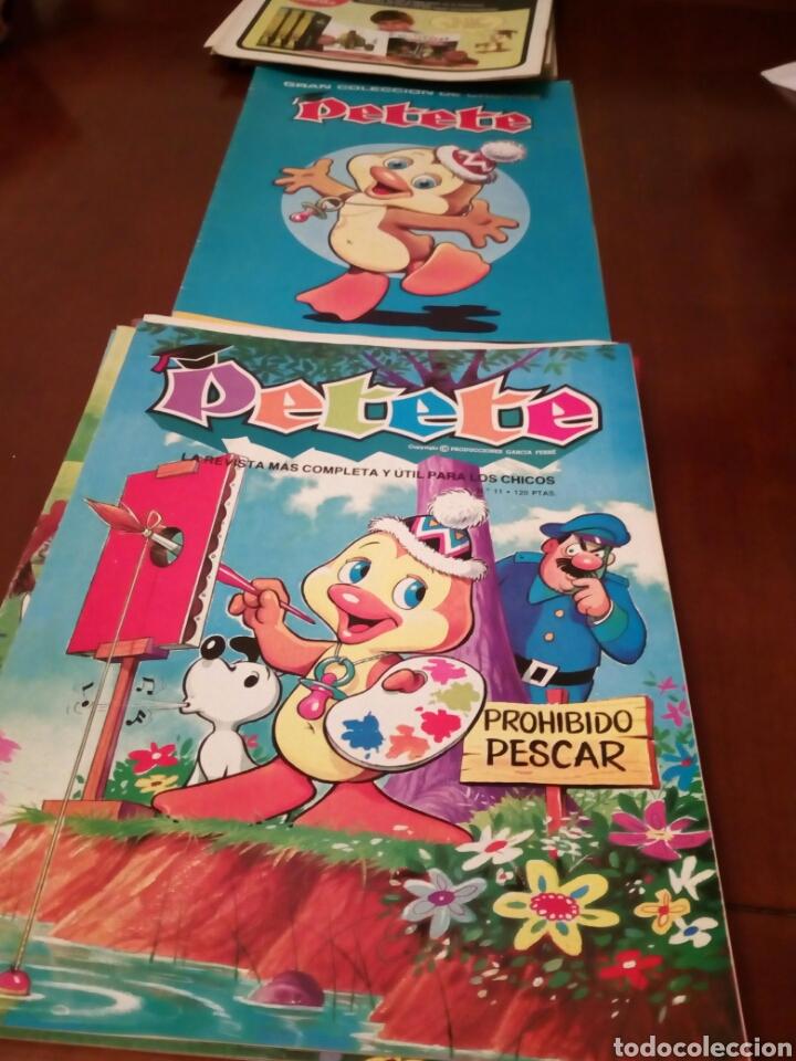 Coleccionismo Álbum: PETETE álbum completó cromos sin pegar con sus laminas sin recortar y revistas - Foto 34 - 119309728