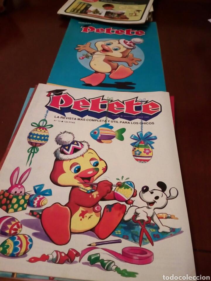Coleccionismo Álbum: PETETE álbum completó cromos sin pegar con sus laminas sin recortar y revistas - Foto 42 - 119309728