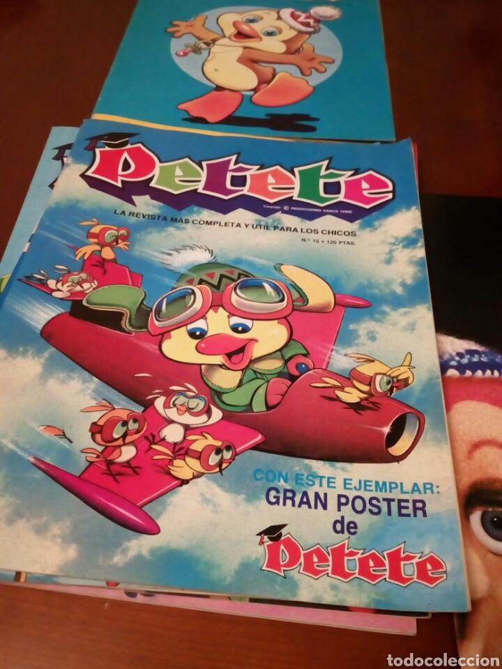 Coleccionismo Álbum: PETETE álbum completó cromos sin pegar con sus laminas sin recortar y revistas - Foto 50 - 119309728