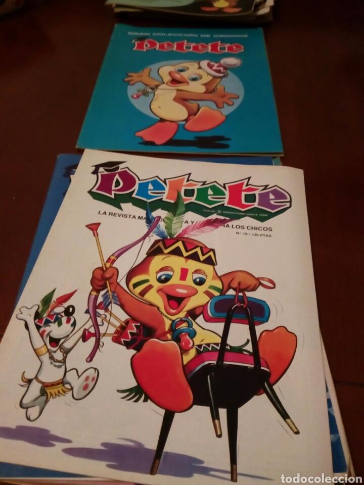 Coleccionismo Álbum: PETETE álbum completó cromos sin pegar con sus laminas sin recortar y revistas - Foto 91 - 119309728
