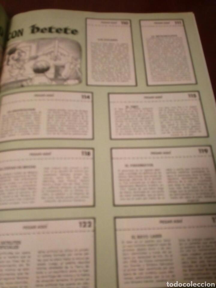 Coleccionismo Álbum: PETETE álbum completó cromos sin pegar con sus laminas sin recortar y revistas - Foto 94 - 119309728