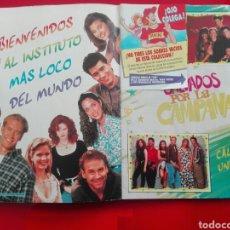 Coleccionismo Álbum: ALBUM SALVADOS POR LA CAMPANA PANINI. Lote 119443742
