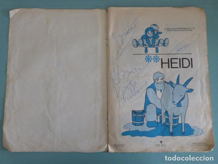 Coleccionismo Álbum: ÁLBUM COMPLETO DE HEIDI AÑO 1975 DE FHER VER BIEN FOTOS - Foto 2 - 119615115