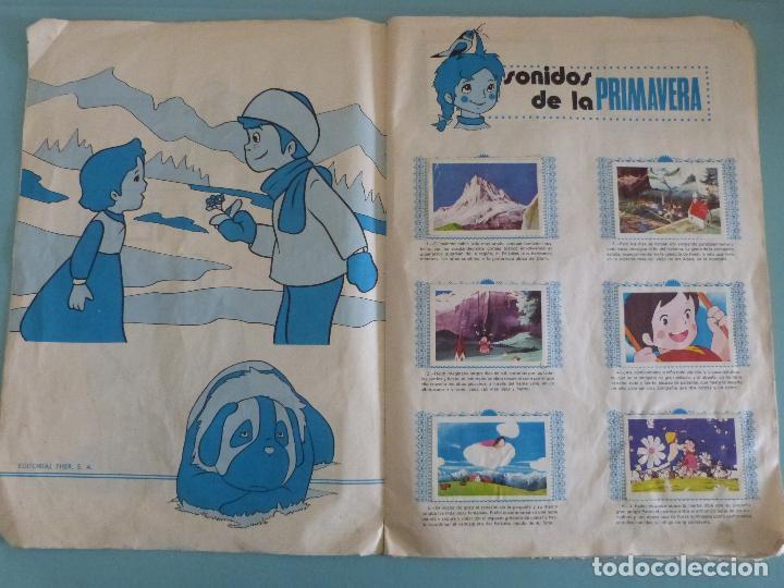 Coleccionismo Álbum: ÁLBUM COMPLETO DE HEIDI AÑO 1975 DE FHER VER BIEN FOTOS - Foto 3 - 119615115