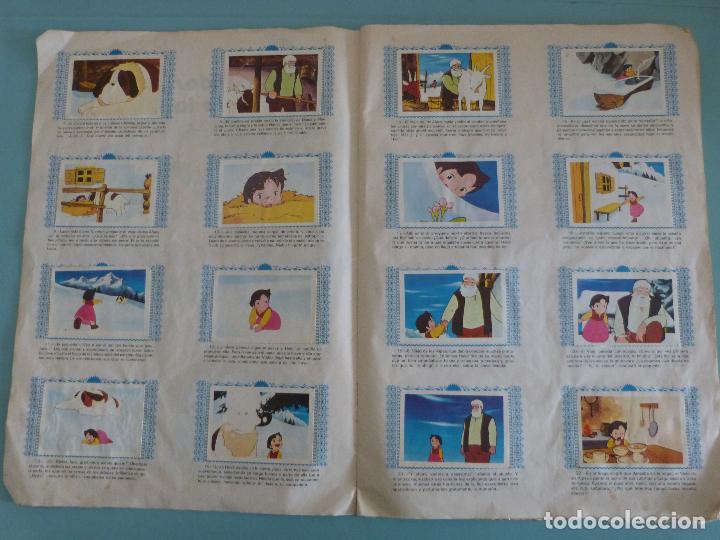 Coleccionismo Álbum: ÁLBUM COMPLETO DE HEIDI AÑO 1975 DE FHER VER BIEN FOTOS - Foto 4 - 119615115