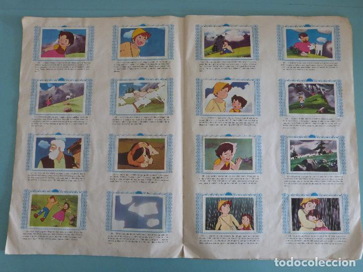 Coleccionismo Álbum: ÁLBUM COMPLETO DE HEIDI AÑO 1975 DE FHER VER BIEN FOTOS - Foto 7 - 119615115