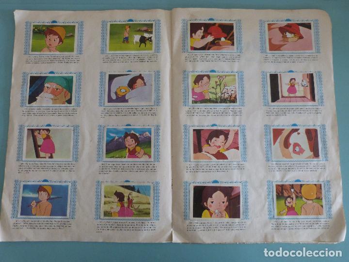 Coleccionismo Álbum: ÁLBUM COMPLETO DE HEIDI AÑO 1975 DE FHER VER BIEN FOTOS - Foto 9 - 119615115