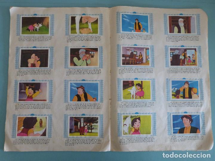 Coleccionismo Álbum: ÁLBUM COMPLETO DE HEIDI AÑO 1975 DE FHER VER BIEN FOTOS - Foto 12 - 119615115