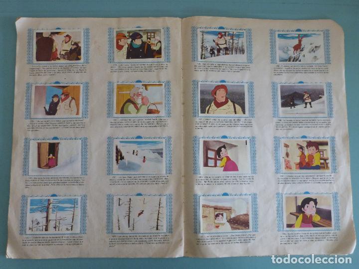 Coleccionismo Álbum: ÁLBUM COMPLETO DE HEIDI AÑO 1975 DE FHER VER BIEN FOTOS - Foto 15 - 119615115