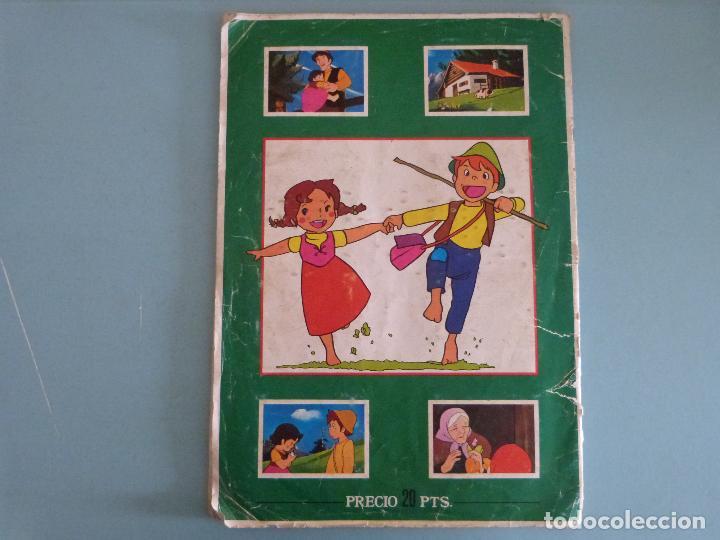 Coleccionismo Álbum: ÁLBUM COMPLETO DE HEIDI AÑO 1975 DE FHER VER BIEN FOTOS - Foto 18 - 119615115