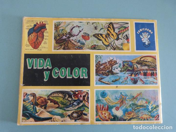 Coleccionismo Álbum: ÁLBUM COMPLETO DE VIDA Y COLOR AÑO 1992 DE COMICROMO VER BIEN FOTOS - Foto 18 - 119623571