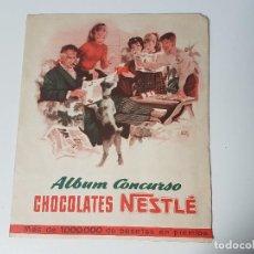 Coleccionismo Álbum: ALBUM CONCURSO CHOCOLATE NESTLÉ ( AÑO 1955 ). Lote 119956127