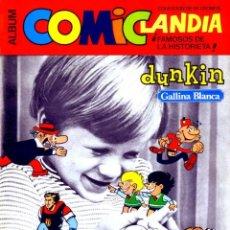 Coleccionismo Álbum: ALBUM CROMOS COMICLANDIA,FORMATO REVISTA,(LEER DESCRIPCION). Lote 140519310