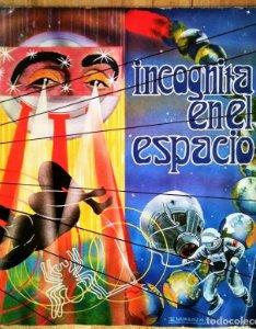 Incógnita en el espacio 1976 Álbum de cromos