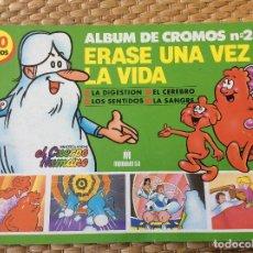 Coleccionismo Álbum: ÁLBUM CROMOS ÉRASE UNA VEZ LA VIDA MULTILIBRO NÚMERO DOS . Lote 120130995