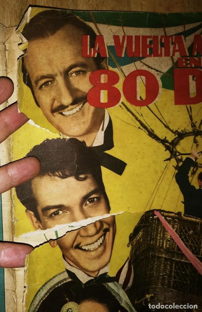 Cantinflas, la vuelta al mundo en 80 dias. Falta el cromo num.2 Ferma álbum con 199 de 200 cromos - 120157215