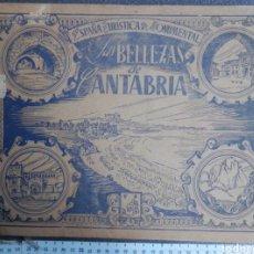 Coleccionismo Álbum: ALBUM FOTOCROMOS LAS BELLEZAS DE CANTABRIA COMPLETO RRR+. Lote 120324951