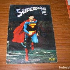 Coleccionismo Álbum: SUPERMAN II COMPLETO 96 CROMOS EDITA FHER . Lote 120401459
