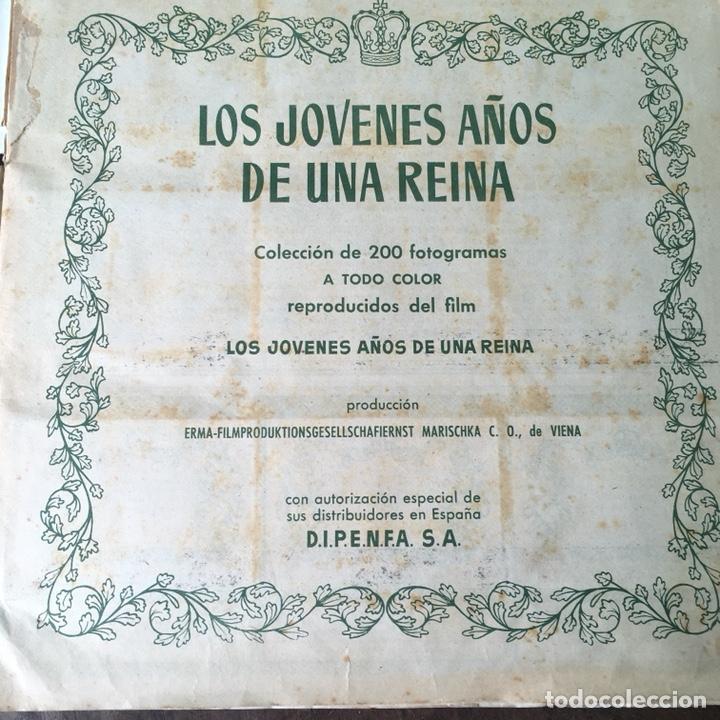 Coleccionismo Álbum: Álbum de cromos completo Los años jóvenes de una Reina - Foto 4 - 120406951