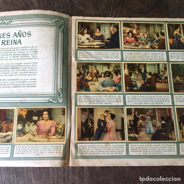 Coleccionismo Álbum: Álbum de cromos completo Los años jóvenes de una Reina - Foto 5 - 120406951