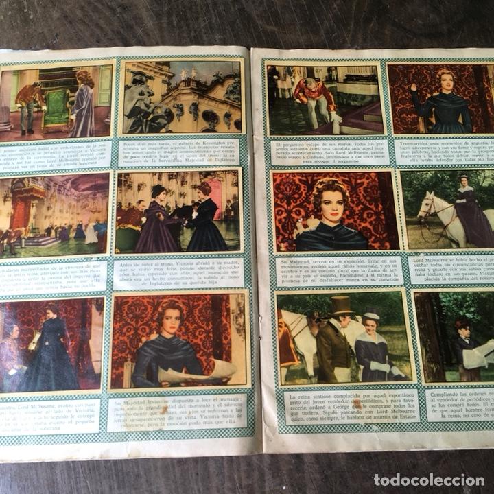 Coleccionismo Álbum: Álbum de cromos completo Los años jóvenes de una Reina - Foto 6 - 120406951