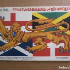 Coleccionismo Álbum: FLAGS & EMBLEMS OF THE WORLD. COMPLETO. Lote 120625143