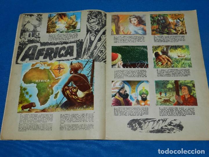 Coleccionismo Álbum: ALBUM COMPLETO - ALBUM GRANDES CONQUISTADORES , CHOCOLATES SOLE , COMPLETO , BUEN ESTADO - Foto 3 - 120907563