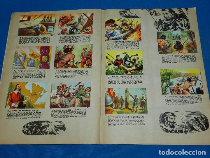 Coleccionismo Álbum: ALBUM COMPLETO - ALBUM GRANDES CONQUISTADORES , CHOCOLATES SOLE , COMPLETO , BUEN ESTADO - Foto 4 - 120907563