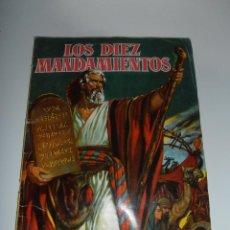 Coleccionismo Álbum: ALBUM DE CROMOS, LOS DIEZ MANDAMIENTOS, COMPLETO, MUY BUEN ESTADO, EDITORIAL BRUGUERA 1960. Lote 121112779