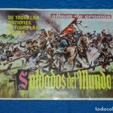 Coleccionismo Álbum: ALBUM COMPLETO - SOLDADOS DEL MUNDO DE TODAS LAS NACIONES ,TODAS LAS EPOCAS ,EDT GALAOR, PERFECTO . Lote 121160275