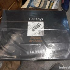 Coleccionismo Álbum: ALBUM COMPLETO Y PERFECTO 100 ANYS IMATGES DE LA ANOIA. Lote 121170791