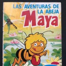 Coleccionismo Álbum - LAS AVENTURAS DE LA ABEJA MAYA - COLECCION DE 94 CROMOS - DANONE, AÑOS 1970 - COMPLETO - 121248491