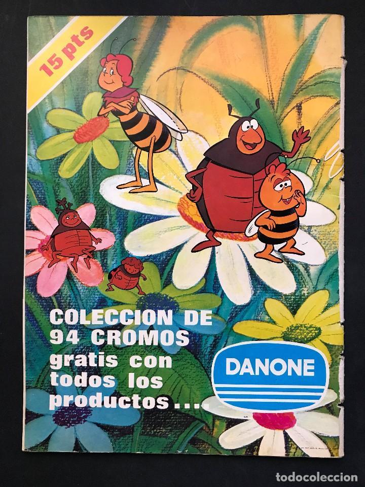 Coleccionismo Álbum: LAS AVENTURAS DE LA ABEJA MAYA - COLECCION DE 94 CROMOS - DANONE, AÑOS 1970 - COMPLETO - Foto 2 - 121248491