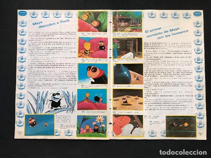 Coleccionismo Álbum: LAS AVENTURAS DE LA ABEJA MAYA - COLECCION DE 94 CROMOS - DANONE, AÑOS 1970 - COMPLETO - Foto 10 - 121248491