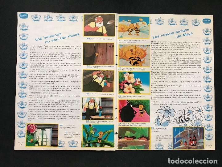 Coleccionismo Álbum: LAS AVENTURAS DE LA ABEJA MAYA - COLECCION DE 94 CROMOS - DANONE, AÑOS 1970 - COMPLETO - Foto 11 - 121248491