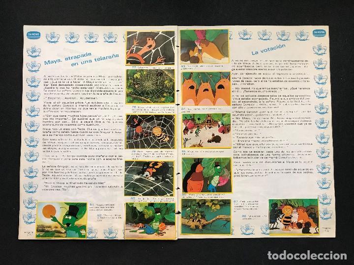 Coleccionismo Álbum: LAS AVENTURAS DE LA ABEJA MAYA - COLECCION DE 94 CROMOS - DANONE, AÑOS 1970 - COMPLETO - Foto 12 - 121248491