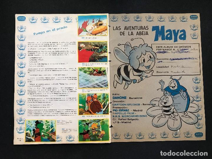 Coleccionismo Álbum: LAS AVENTURAS DE LA ABEJA MAYA - COLECCION DE 94 CROMOS - DANONE, AÑOS 1970 - COMPLETO - Foto 13 - 121248491