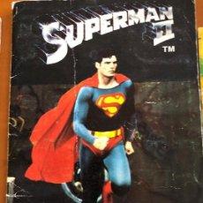 Coleccionismo Álbum: SUPERMAN II COMPLETO. Lote 121259387