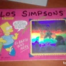 Coleccionismo Álbum: LOS SIMPSONS PANINI ALBUM COMPLETO. Lote 121411951