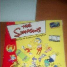 Coleccionismo Álbum: LOS SIMPSONS PANINI ALBUM COMPLETO AÑO 1999. Lote 121412019