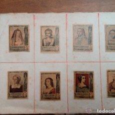 Coleccionismo Álbum: FOTOTIPIAS -ALBUM Nº SERIE 25 COMPLETA MUJERES NOBLES DESDE 1401-1861 -PRECIOSA COLECCIÓN.75-A.1915. Lote 121623699