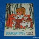 Coleccionismo Álbum: ALBUM COMPLETO - BLANCANIEVES Y LOS 7 ENANITOS , EDT RUIZ ROMERO 1964 , COMPLETO + SOBRE VACIO. Lote 121749403