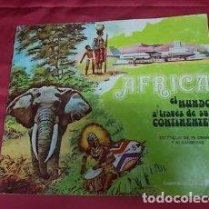 Coleccionismo Álbum: ALBUM DE CROMOS COMPLETO. AFRICA . EL MUNDO A TRAVES DE SUS CONTINENTES . RAM. Lote 121930583