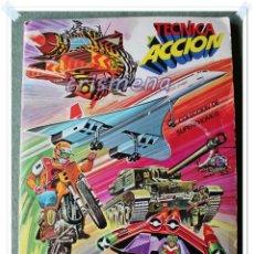 Coleccionismo Álbum: ALBUM TECNICA Y ACCION EDICIONES ESTE 1980 COMPLETO VER ESTADO FOTOS ANUNCIO. Lote 122021047